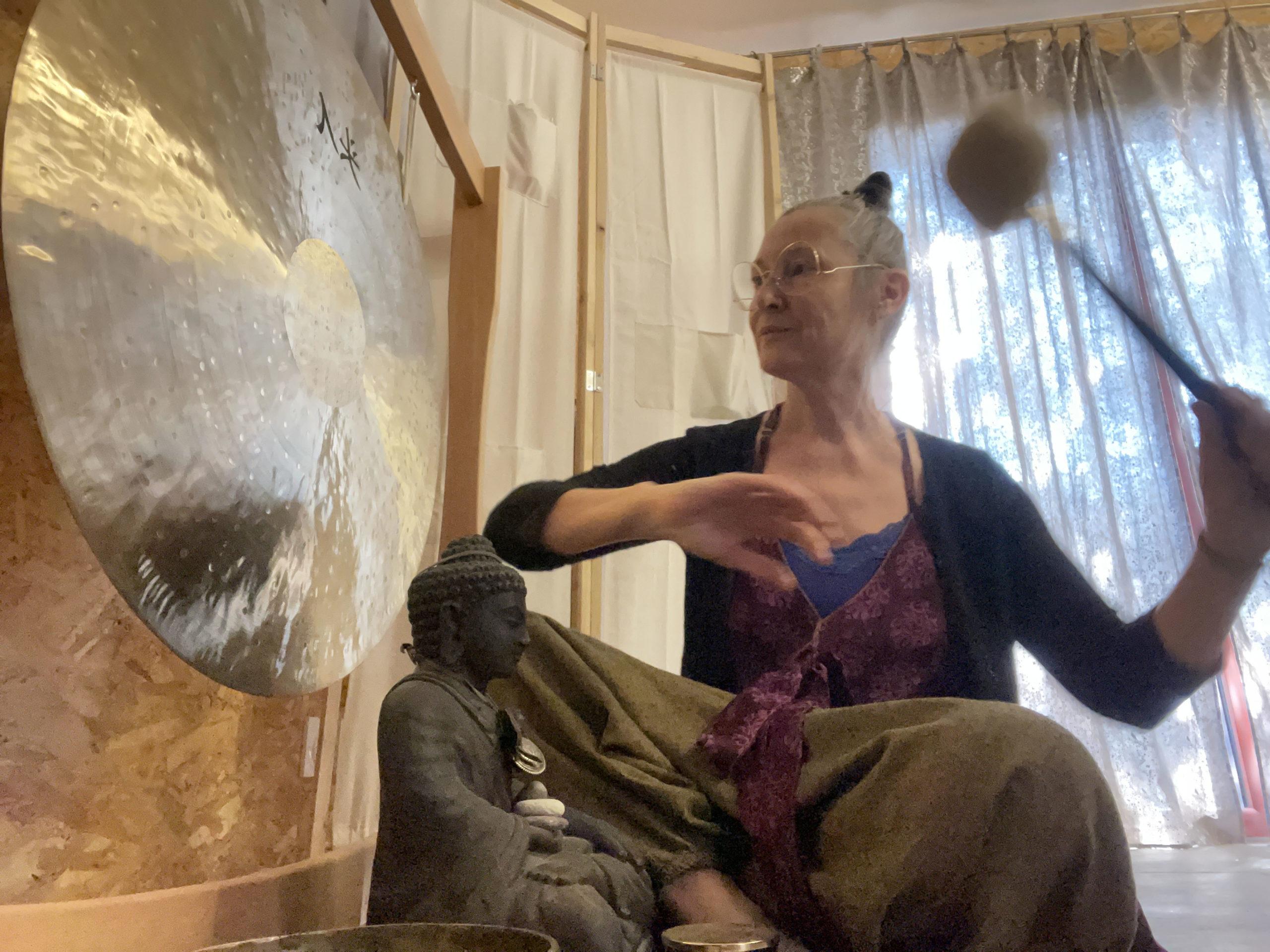 Gongs et bols tibétains et relaxation